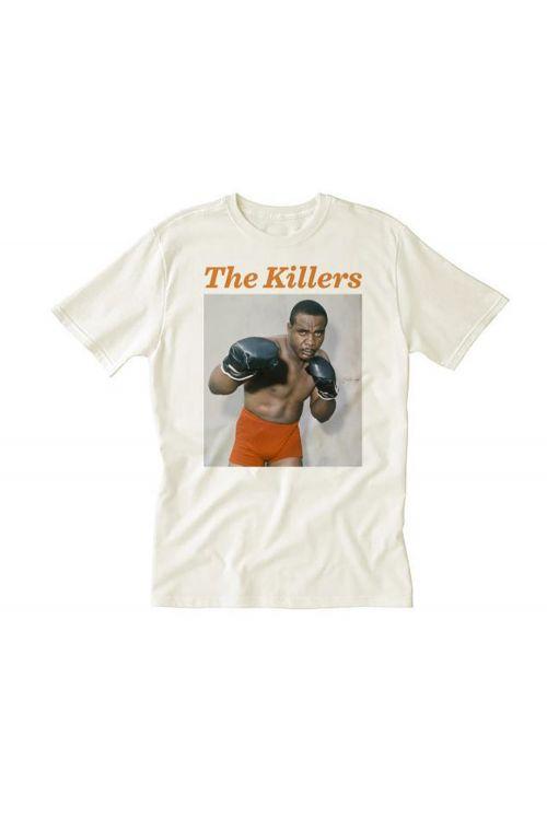 Liston Orange Shorts White Tshirt by The Killers