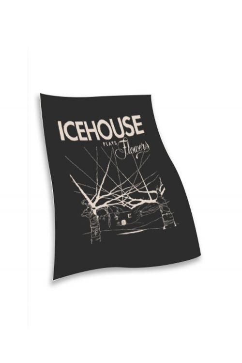 Icehouse Plays Flower Tea  Towel by Icehouse