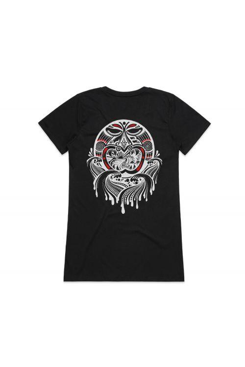 Personify Ladies Black Tshirt by L.A.B.