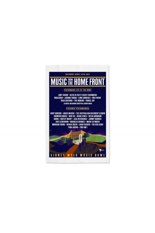 Event 2021 Tea Towel by Music From The Homefront