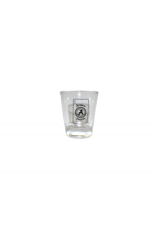 Andrew Farriss Ace Card Shot Glass by Andrew Farriss