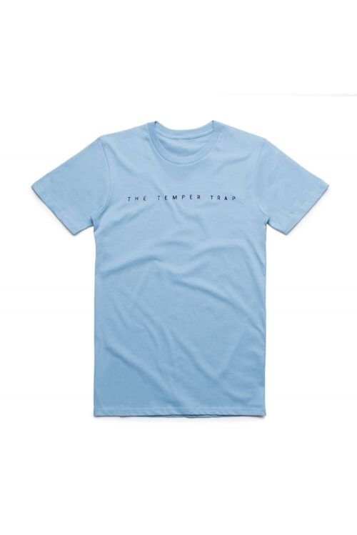 Light Blue Logo Tshirt by Temper Trap