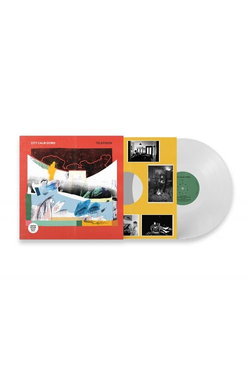 """City Calm Down - Television LP 12"""" White Vinyl by I Oh You"""