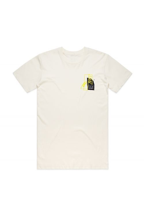 Television Tour Natural Tee by City Calm Down