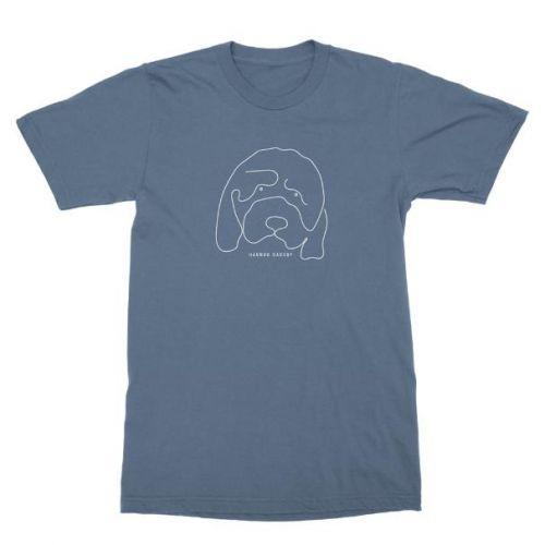 Douglas Blue Tshirt by Hannah Gadsby