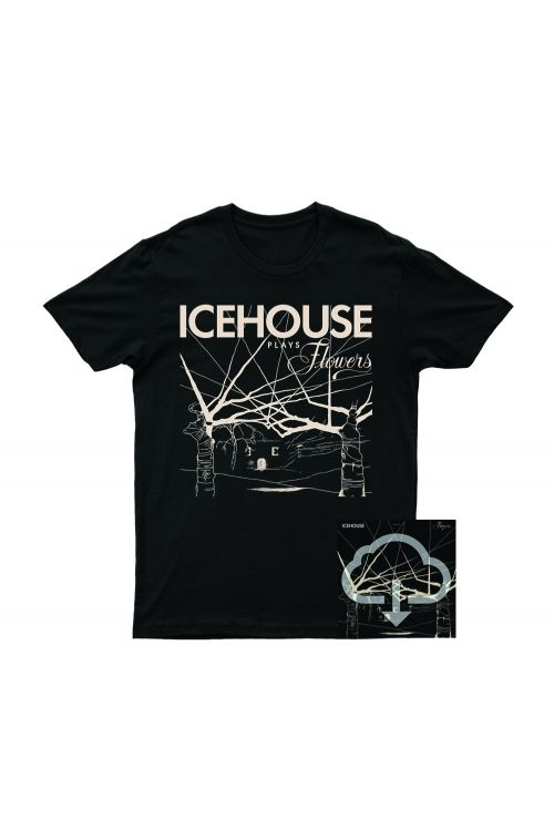 Icehouse Plays Flowers Tshirt/Digital Download by Icehouse