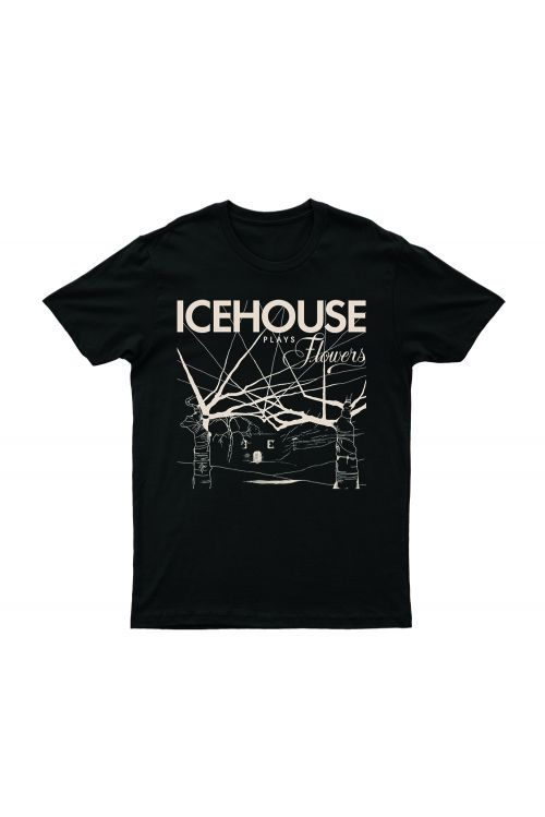 Icehouse Plays Flowers Tshirt by Icehouse