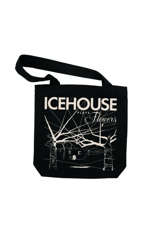 Icehouse Plays Flowers Tote Bag by Icehouse