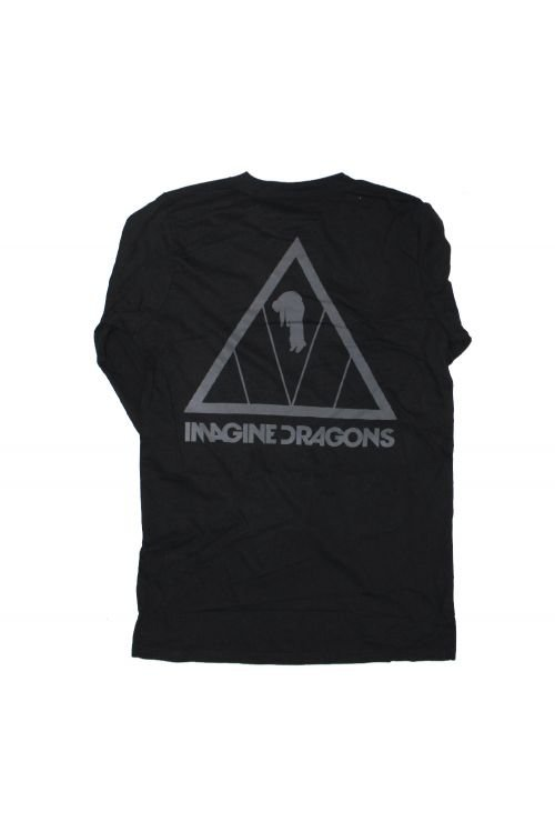 Triangle Black Longsleeve Tshirt by Imagine Dragons