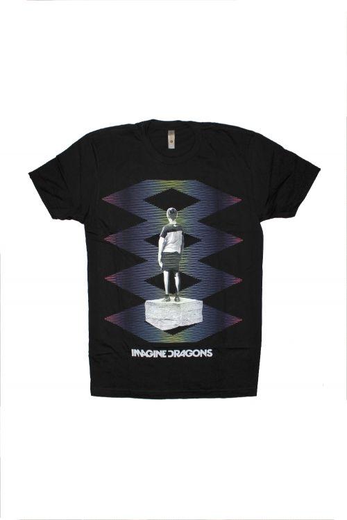 Zig Zag Black Tshirt by Imagine Dragons