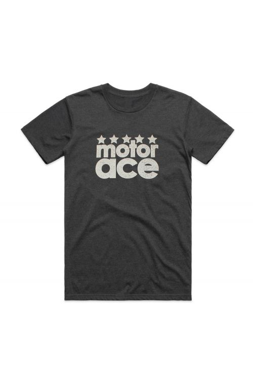 5 Star Tour Asphalt Tshirt by Motor Ace