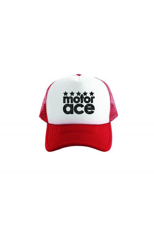 Trucker Cap Red by Motor Ace