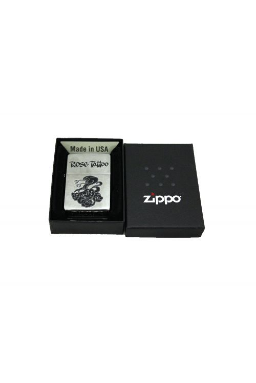 Zippo Lighter (Snakes) Limited by Rose Tattoo