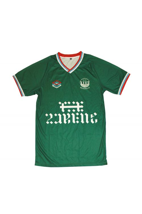 Menangle Green Soccer Jersey by The Rubens