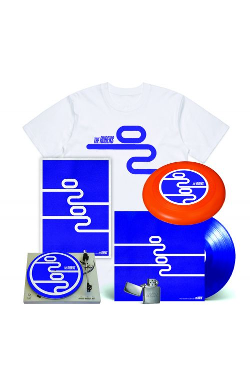 0202 LP (Vinyl) /Signed Poster/Frisbee/Zippo/Tee w Bonus Slipmat Bundle by The Rubens