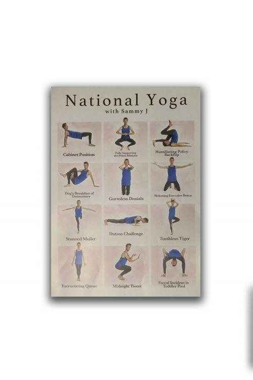 Yoga Poster by Sammy J