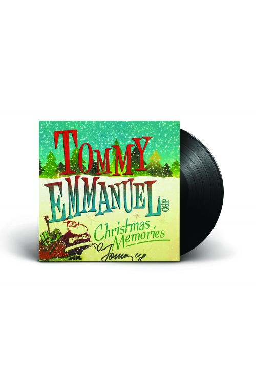 Christmas Memories Vinyl (2016) Limited Signed by Tommy Emmanuel