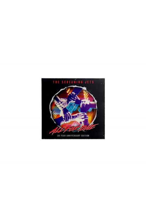 All For One - 30 Year Anniversary Edition Jersey (Blue/Red) + CD by The Screaming Jets