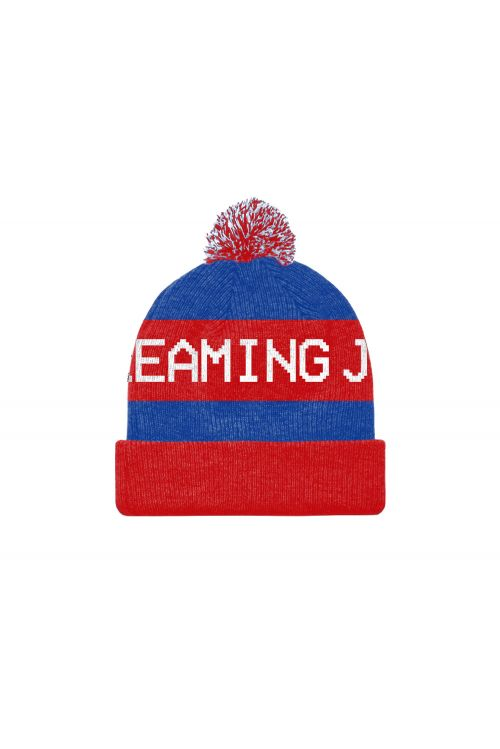 All For One - 30 Year Anniversary Edition Beanie (Blue/Red) by The Screaming Jets