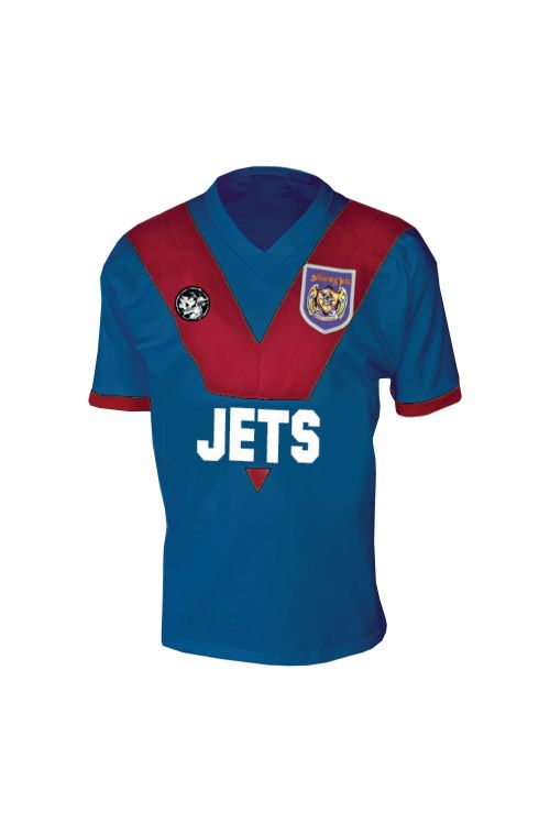 All For One - 30 Year Anniversary Edition Jersey (Blue/Red) + Black Vinyl by The Screaming Jets