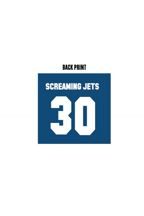 All For One - 30 Year Anniversary Edition Jersey (Blue/Red) by The Screaming Jets