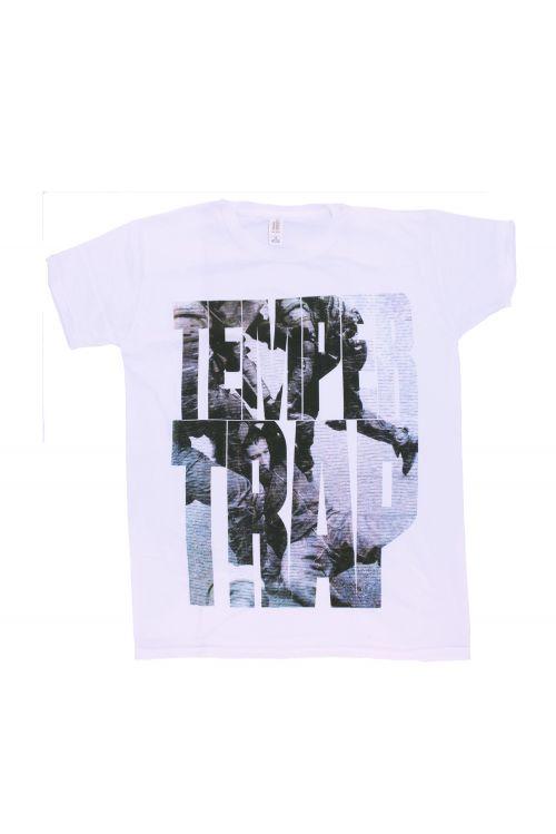 Girl's Machine - White Tshirt by Temper Trap