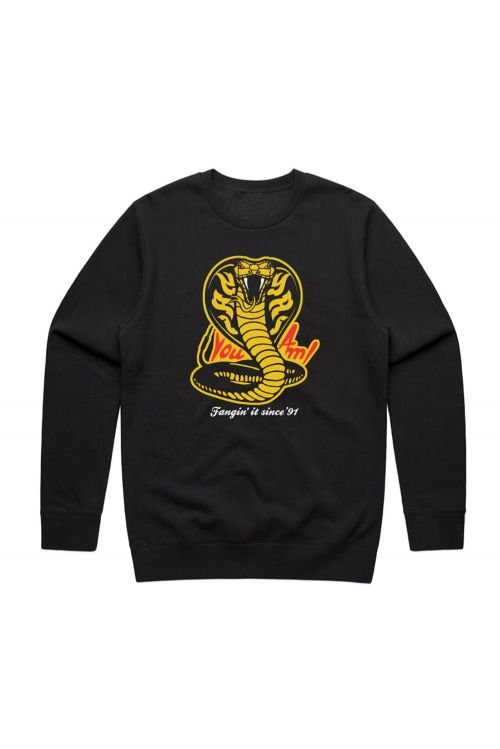 Fangin' It Black Sweater by You Am I