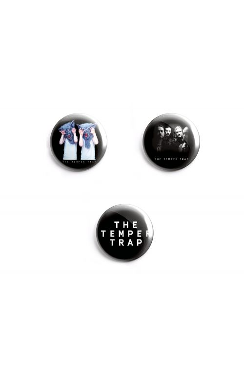 Badge Set by Temper Trap