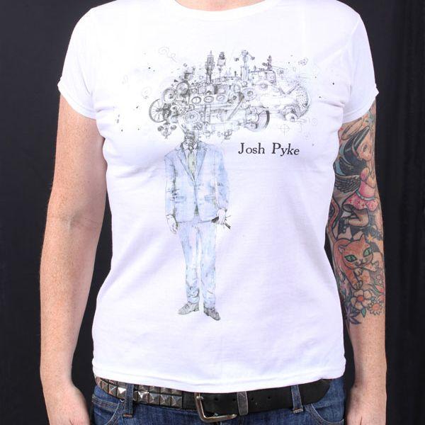 Album Ladies White T Shirt
