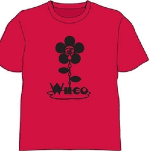 Flower Red Tshirt