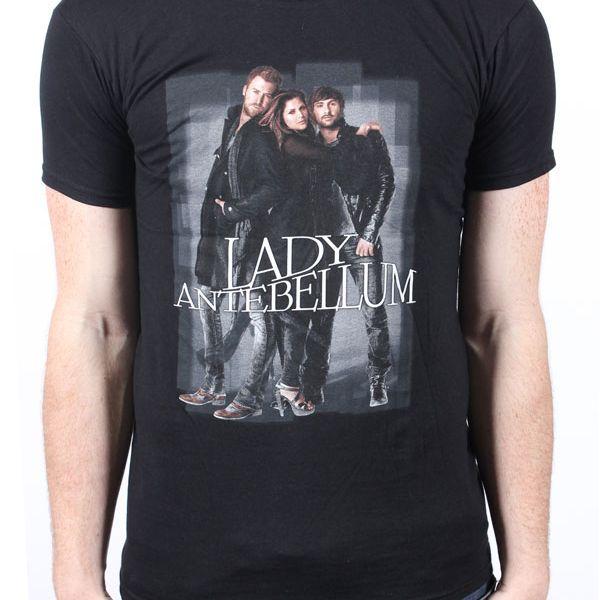 Standing Black Tshirt