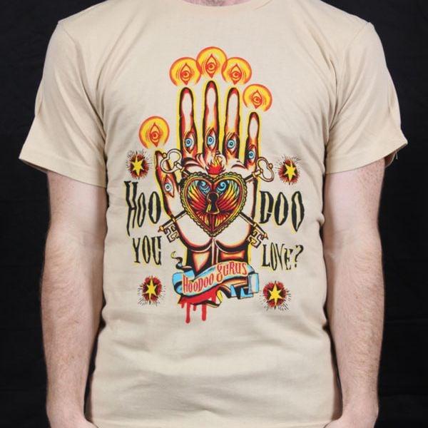 Hoodoo You Love Tan Tshirt