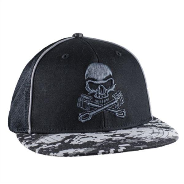 Grave Digger Skull/Pistons Cap
