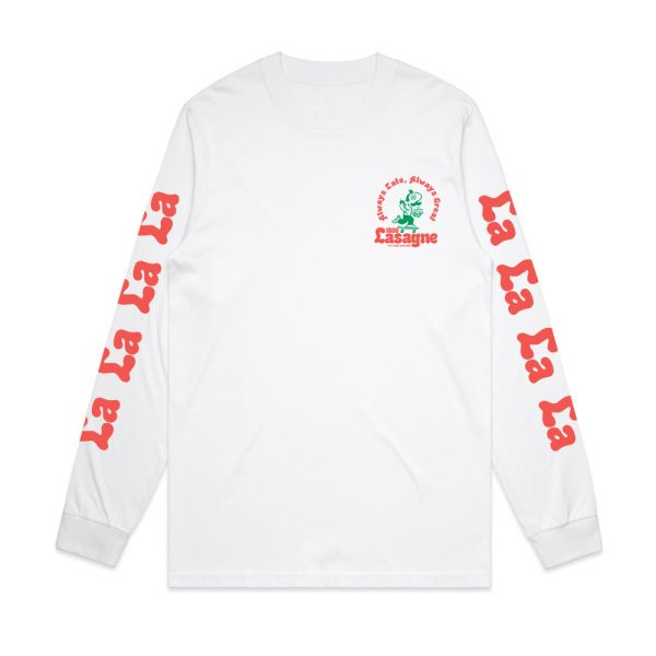 White Longsleeve Tshirt