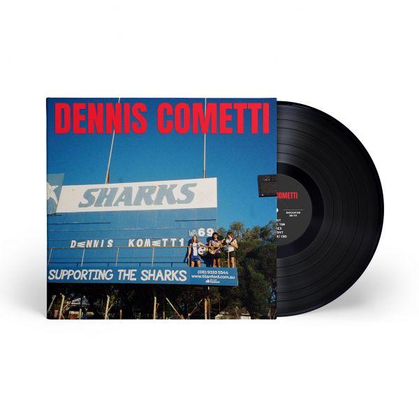 Dennis Cometti Self Titled Vinyl (Black)