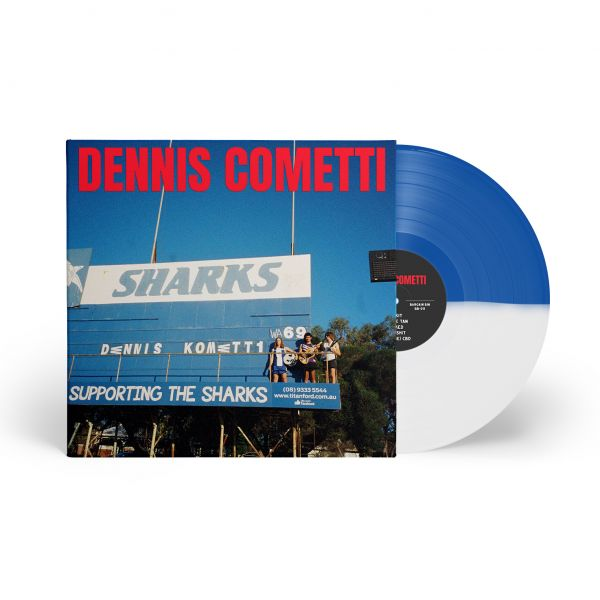 Dennis Cometti Self Titled Vinyl (Blue/White)