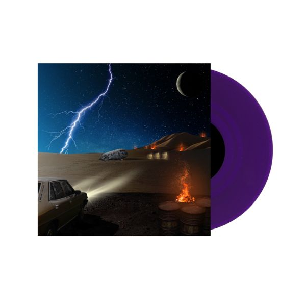 DZ Deathrays - Positive Rising: Part 2 Translucent Purple Vinyl