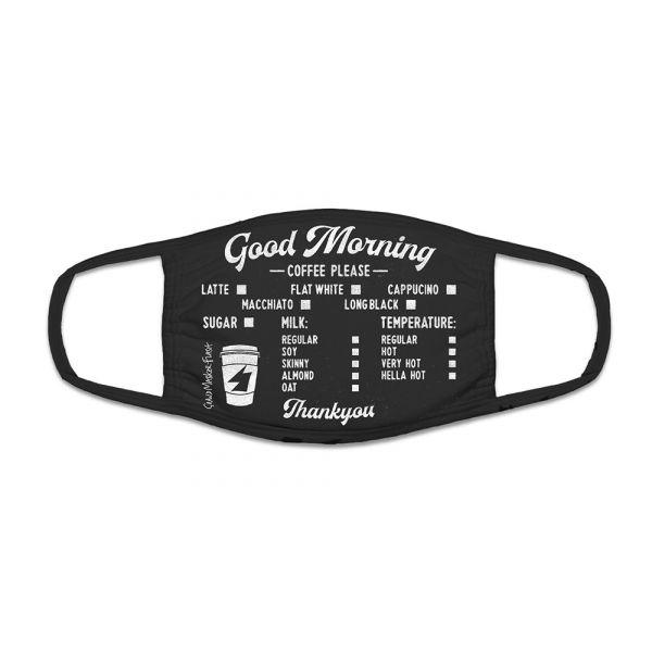 Black Coffee Mask