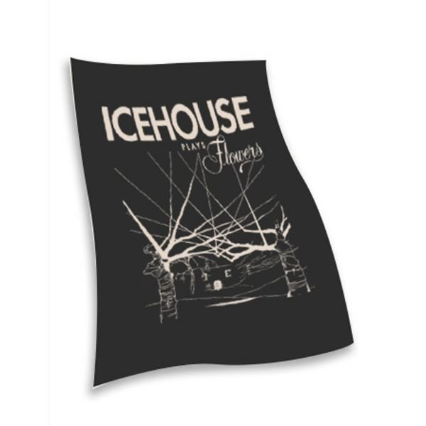 Icehouse Plays Flower Tea  Towel