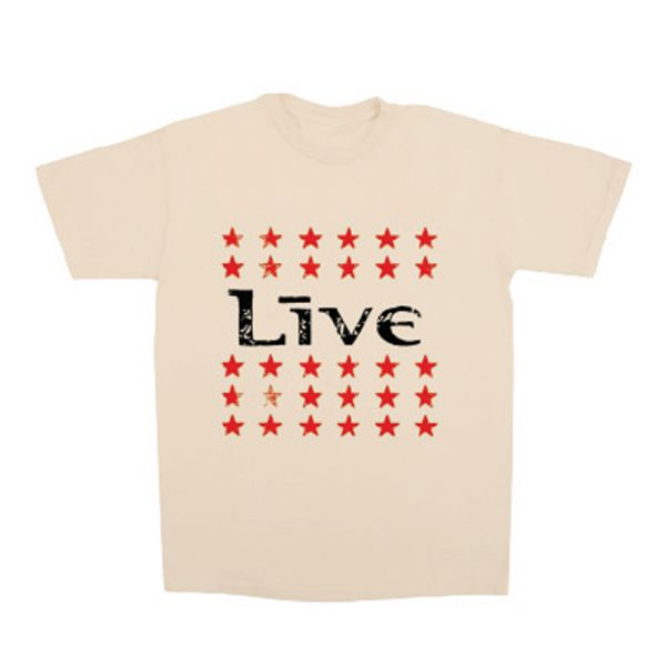 Stars Cream Tshirt