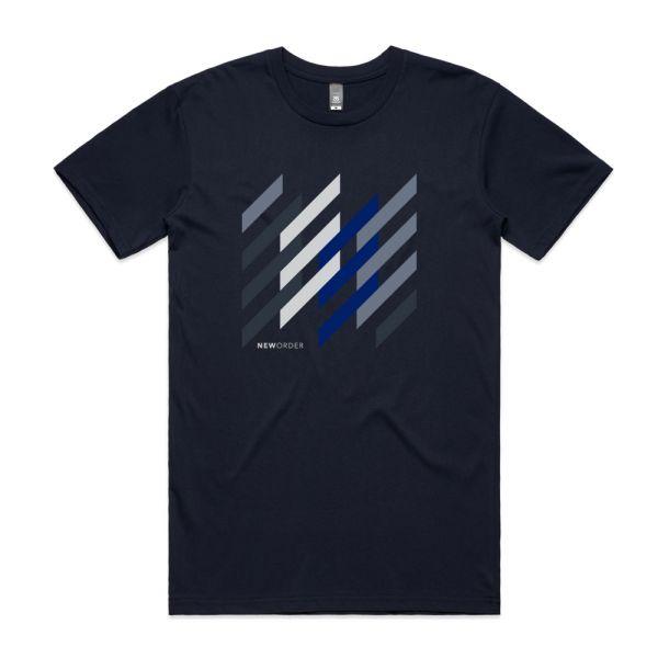 Stripes Navy Tshirt