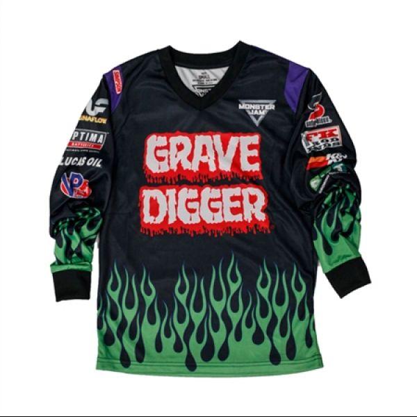 Monster Jam Grave Digger Playwear Set