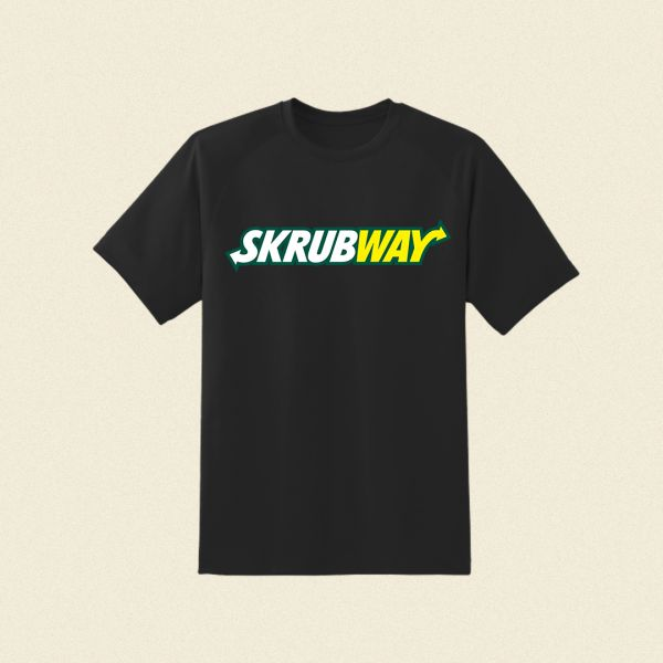 Skrubway Black Tshirt