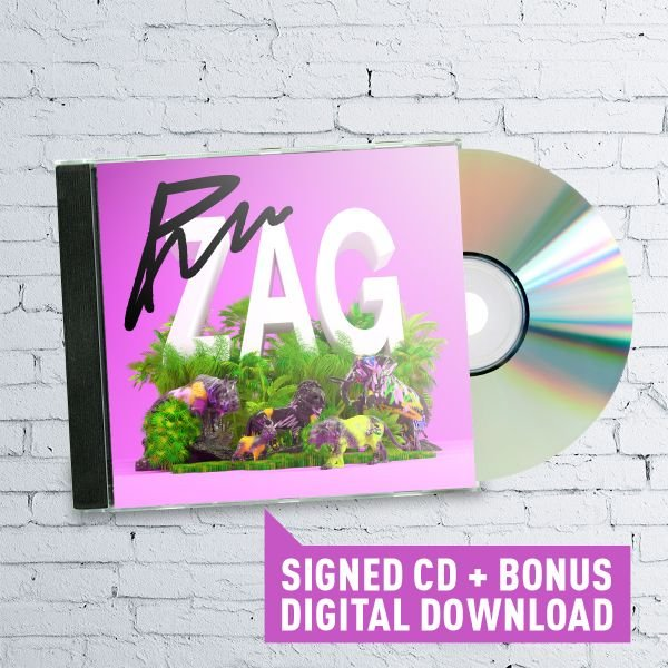 Signed Paces 'ZAG' CD