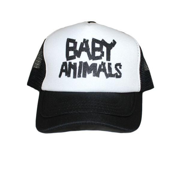 Trucker Cap Baby Animals Tape Logo
