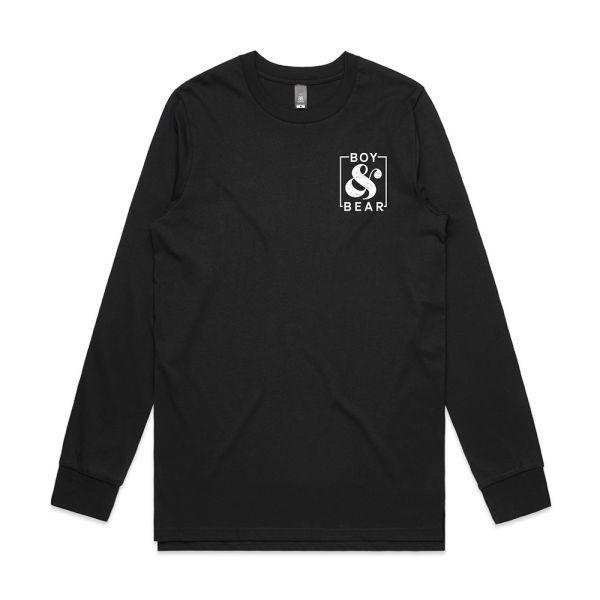 Ampersand Black Lonsgleeve Tshirt