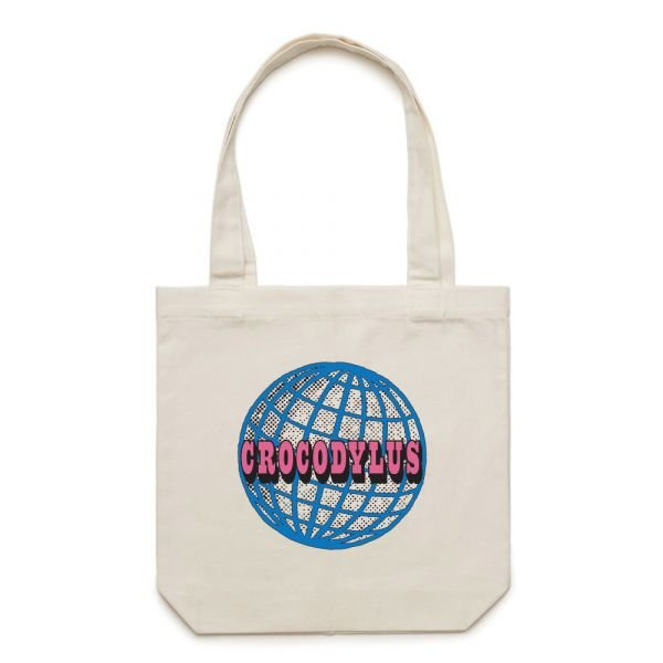 Globe Tote Bag Natural
