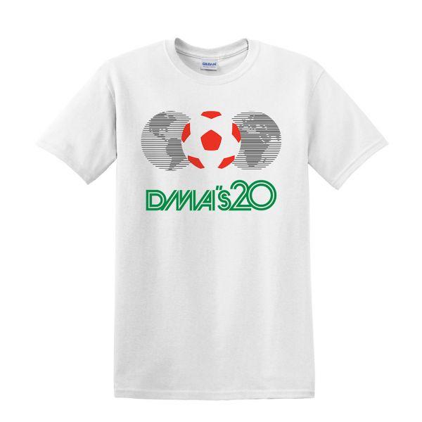 Mexico 86 White Tshirt