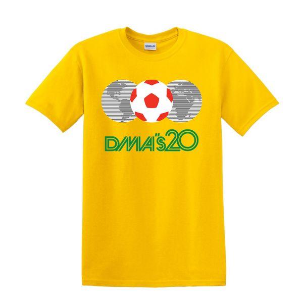 Mexico 86 Yellow Tshirt
