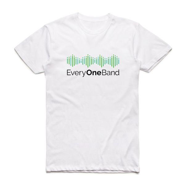Green Logo White Tshirt & (Main Mix) Digital Download